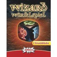 Ersatzblöcke für Wizard Würfelspiel (2...
