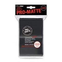 Black Pro-Matte Sleeves (100)