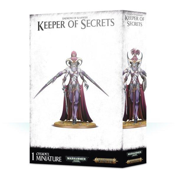DAEMONS OF SLAANESH KEEPER OF SECRETS