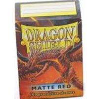 Dragon Shield: Matte - Red (100)