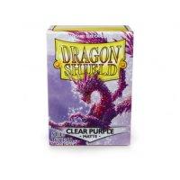 Dragon Shield: Matte - Clear Purple (100) *limited*