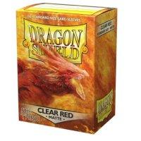 Dragon Shield: Matte - Clear Red (100)