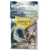 Dragon Shield: Perfect Fit Inner Sleeves ? Clear/Clear (100)