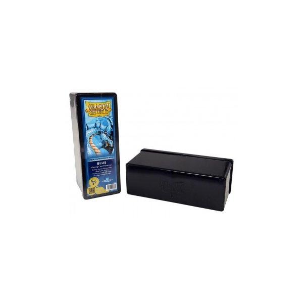 Dragon Shield: Gaming Box 4 Compartments ? Blue