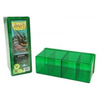 Dragon Shield: Gaming Box 4 Compartments ? Green