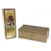 Dragon Shield: Gaming Box 4 Compartments ? Gold
