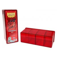 Dragon Shield: Gaming Box 4 Compartments ? Red