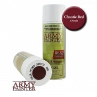 Army Painter  Primer: Chaotic Red (400ml)
