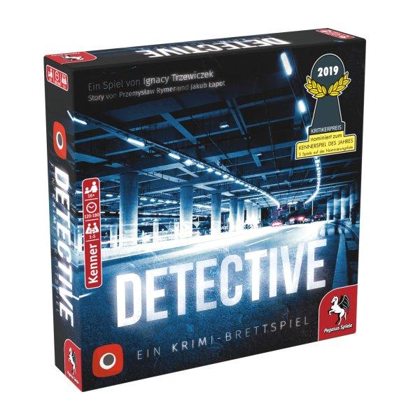 Detective - Ein Krimi-Brettspiel (Portal Games) *Nominiert Kennerspiel des Jahres 2019*