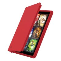 Zipfolio 360 – 18-Pocket XenoSkin – Red