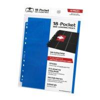 18-Pocket Side-Loading Supreme Pages Standard Size Blue (10)