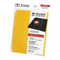 18-Pocket Side-Loading Supreme Pages Standard Size Yellow...