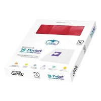 18-Pocket Side-Loading Supreme Pages Standard Size Red (50)