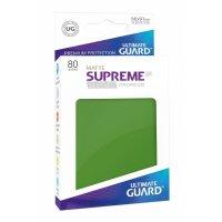 Supreme UX Sleeves Standard Size Matte Green (80)