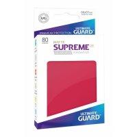 Supreme UX Sleeves Standard Size Matte Red (80)