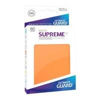 Supreme UX Sleeves Standard Size Matte Orange (80)
