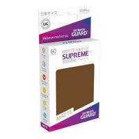 Supreme UX Sleeves Japanese Size Matte Brown (60)