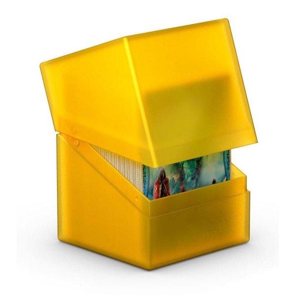 Boulder Deck Case 100+ Standard Size Amber