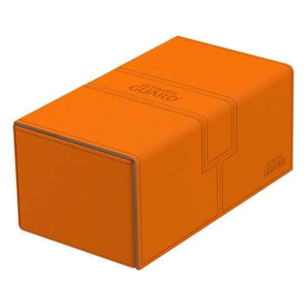 Twin Flip´n´Tray Deck Case 200+ Standard Size Xenoskin Orange
