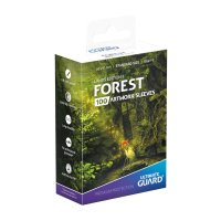 Printed Sleeves Standard Size Lands Edition II Forest (100)