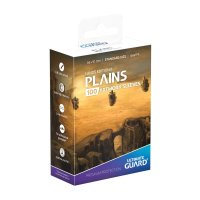 Printed Sleeves Standard Size Lands Edition II Plains (100)