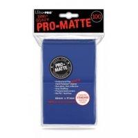 UP - Standard Deck Protector - PRO-Matte Blue (100 Sleeves)