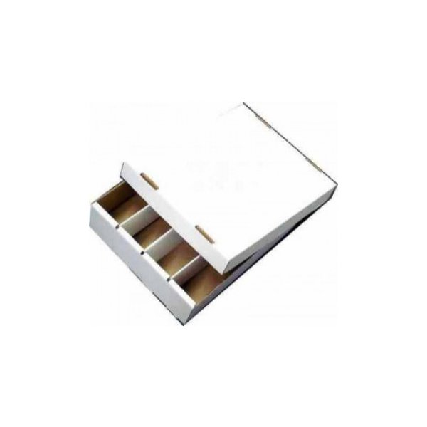 Cardbox / Fold-out Box with Lid for Storage of 4.000 Cards