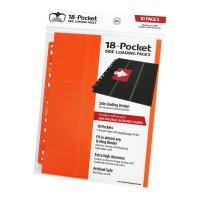 18-Pocket Side-Loading Supreme Pages Standard Size Orange...