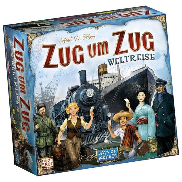 Zug um Zug: Weltreise Grundspiel