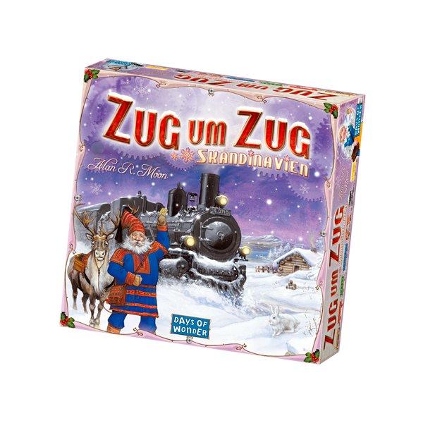 Zug um Zug: Skandinavien Grundspiel