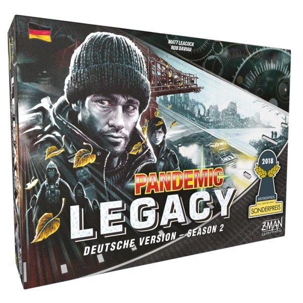 """Pandemic Legacy - Season 2 SCHWARZ  """"Sonderpreis Spiel des Jahres 2018"""""""
