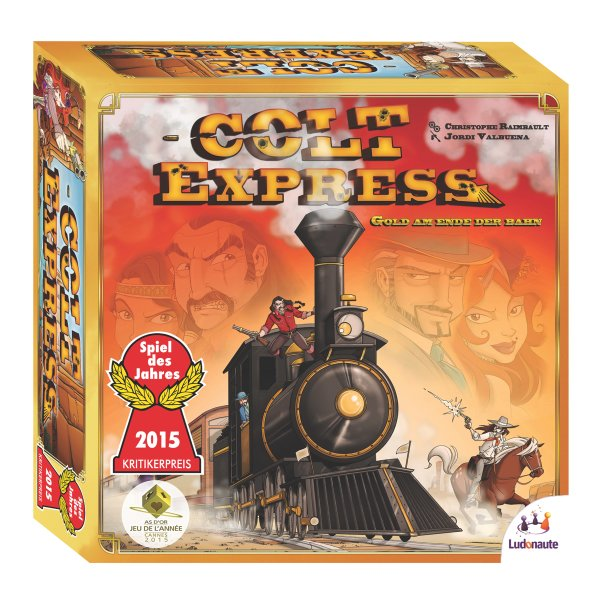 """Colt Express Grundspiel """"Spiel des Jahres 2015"""""""