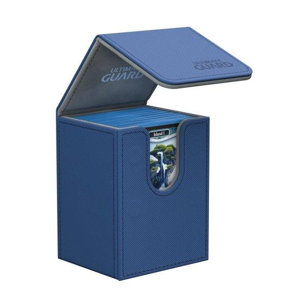 Ultimate Guard Flip Deck Case 80+ Standardgröße XenoSkin Blau