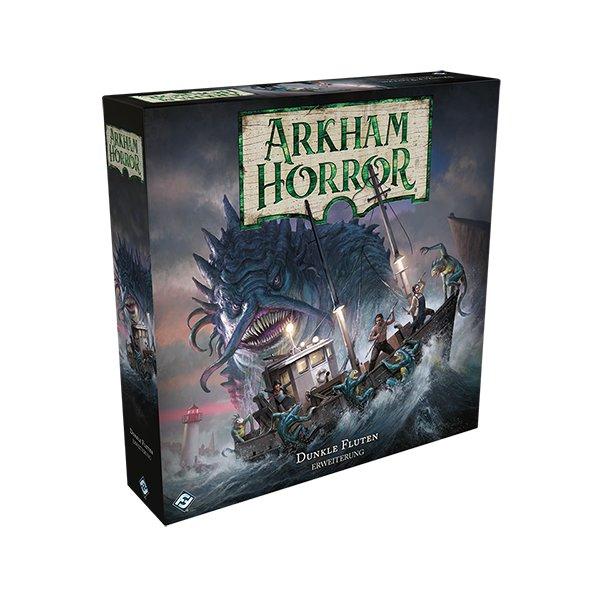 Arkham Horror 3.Ed. - Dunkle Fluten Erweiterung