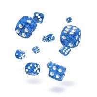 Oakie Doakie Dice W6 Würfel 12 mm Speckled - Blau (36)