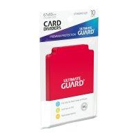 Ultimate Guard Kartentrenner Standardgröße Rot...