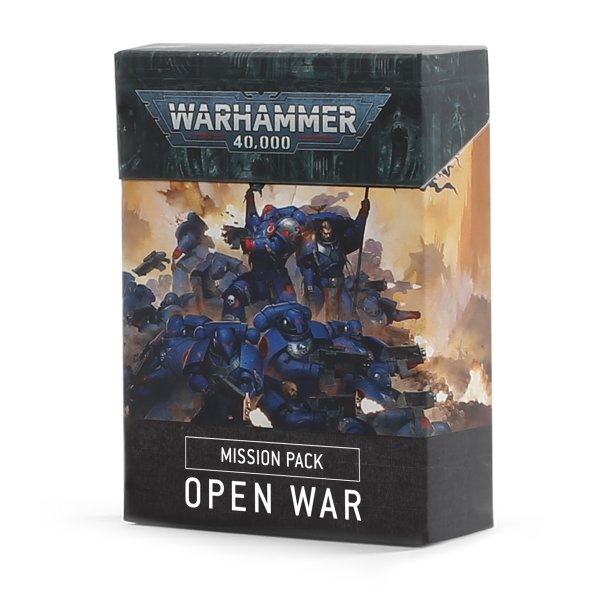 WH40K: MISSION PACK: OPEN WAR (ENGLISH)