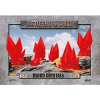 Battlefield in a Box - Blood Crystals - Red - (x6) - 30mm