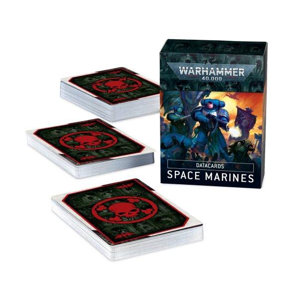 DATACARDS: SPACE MARINES (DEUTSCH)
