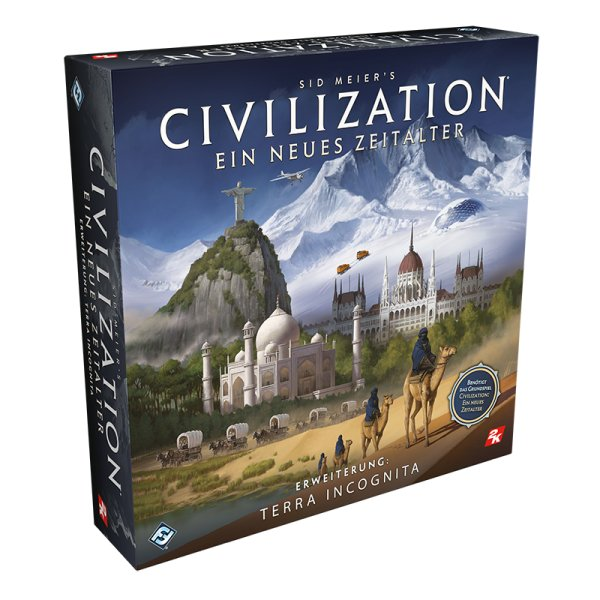 Civilization: Ein neues Zeitalter - Terra Incognita • Erweiterung
