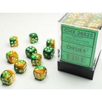 Chessex Gemini 12mm d6 Dice Blocks with pips Dice Blocks...