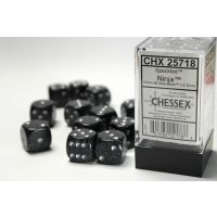 Ninja™ Speckled 16mm d6 with pips Dice...