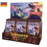 MTG - Strixhaven: School of Mages Set Booster Display (30...