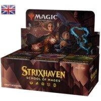 MTG - Strixhaven: School of Mages Draft Booster Display...