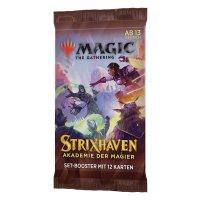 MTG - Strixhaven: School of Mages Set Booster - DE