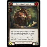 Back Alley Breakline - C - Blue - Foil
