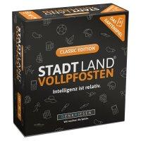 STADT LAND VOLLPFOSTEN - Das Kartenspiel - Classic Edition