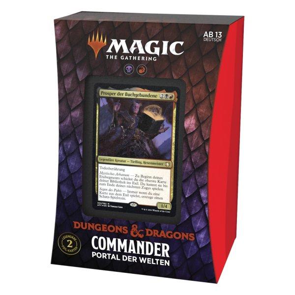 MTG - Adventures in the Forgotten Realms Commander Deck Planar Portal