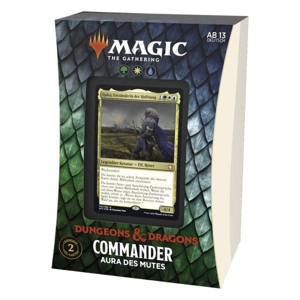 MTG - Adventures in the Forgotten Realms Commander Deck Aura of Courage
