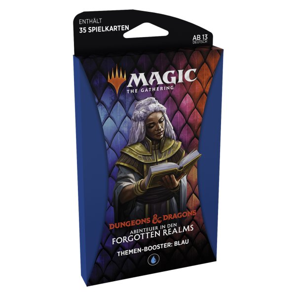 MTG - Adventures in the Forgotten Realms Theme Booster - Blau